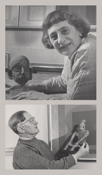 Top Lee Boltin Untitled Anni Albers With Pre Columbian Head 1958 Gelatin Silver Print The Josef And Foundation 197628926