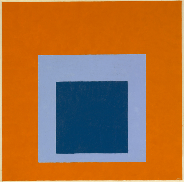 Josef Albers Homage To The Square Festive 1951 Oil On Masonite Yale University Art Gallery Gift Of Anni And Foundation Inc