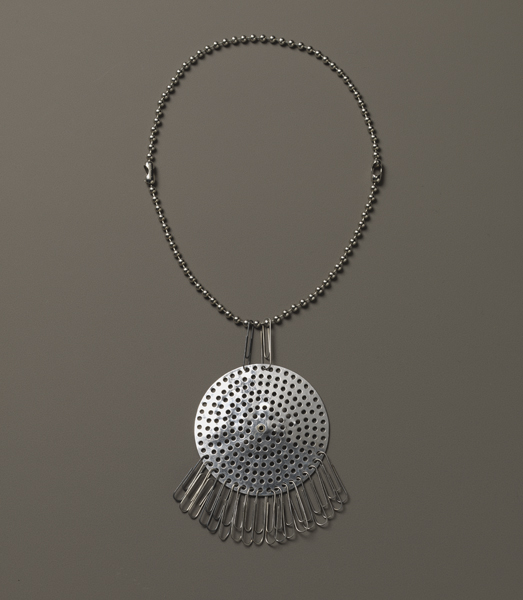 Anni Albers Necklace Ca 1940 Drain Strainer And Paper Clips The Josef Foundation Bethany Conn 20061416
