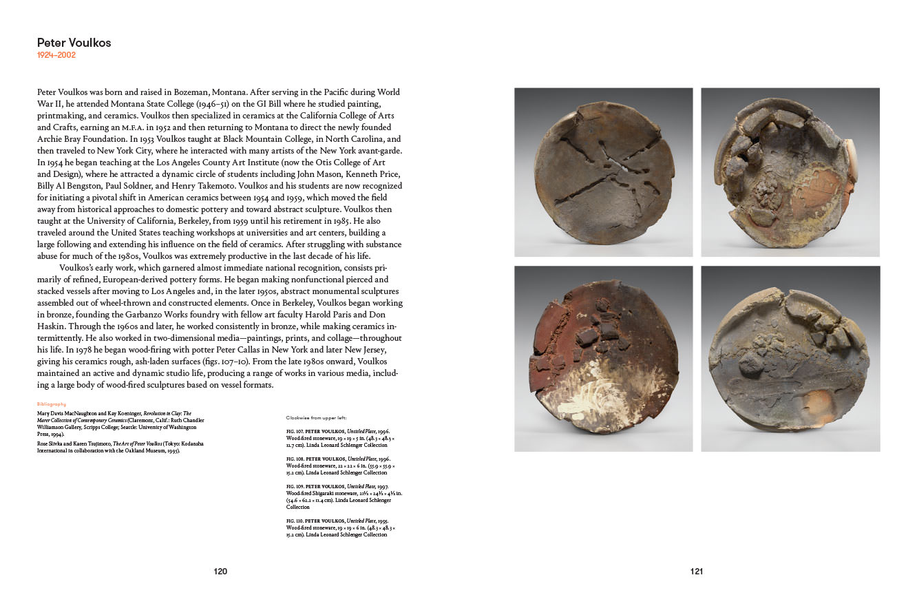 peter voulkos essay Ceramics essays artscolumbia archives when peter voulkos (1924-2002) was an undergraduate ceramics major at montana state university in the late 1940» the students dug and processed their own day and developed their own glazes.