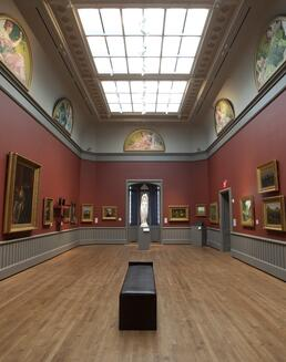 Gallery of American art before 1900.