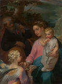 Francesco Vanni, <em>The Rest on the Flight into Egypt</em>, known as the <em>Madonna della Pappa</em>, ca. 1599