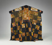 Woman's Funeral Tunic and Headscarf, China, late 19th–early 20th century