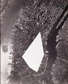 Sol LeWitt, The Area of Manhattan between the Places Where I Have Lived Is Removed