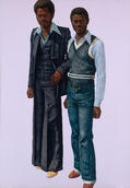 Barkley L. Hendricks, APB's (Afro-Parisian Brothers), 1978
