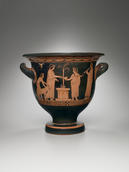 Attributed to the Pothos Painter, Bell Krater with a Scene of Sacrifice, Greek, Attic, ca. 420 B.C.E.