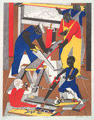 Jacob Lawrence, Workshop, 1972