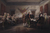 John Trumbull, The Declaration of Independence, July 4, 1776, 1786–1820