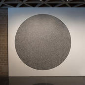 Sol LeWitt, Wall Drawing #1180, installed at the Yale University Art Gallery, New Haven, Conn., 2017