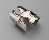 "Art Smith, ""Three Hole"" Cuff, New York, ca. 1950"