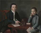 Gilbert Stuart, Francis Malbone and His Brother Saunders, ca. 1773