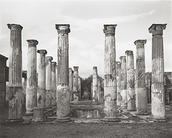 William Wylie, Peristyle, House of the Colored Capitals or House of Ariadne (VII.4.31)