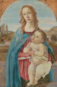 Infrared Examination of Botticelli's Virgin and Child