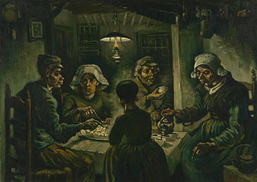 Vincent van Gogh, The Potato Eaters, 1885