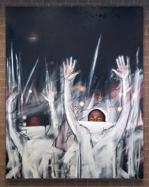 Titus Kaphar, Another Fight for Remembrance, 2015