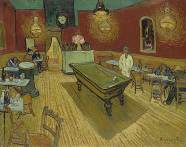 Vincent van Gogh, Le café de nuit (The Night Café), 1888